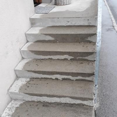 Before-Treppen